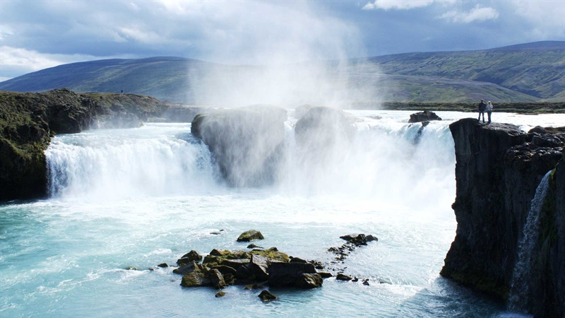 Go 240 Afoss Waterfall North Iceland Travel Guide Nordic