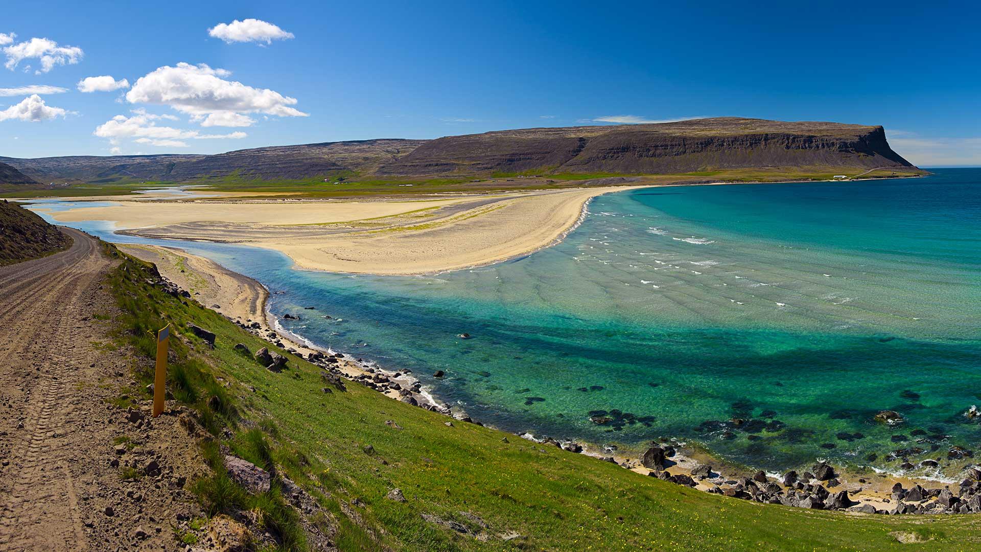 Rau 240 Isandur Red Sand Beach Westfjords Travel Guide