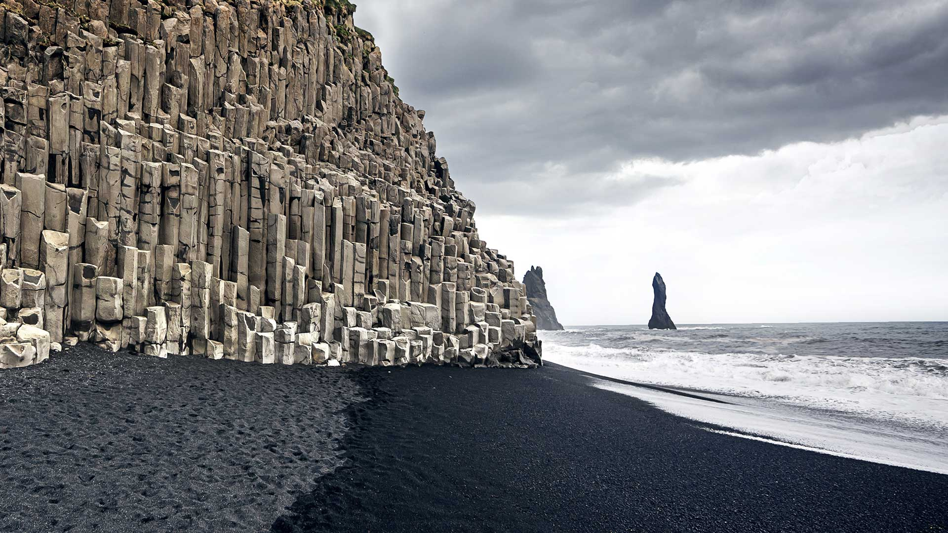 Reynisfjara Beach In South Iceland