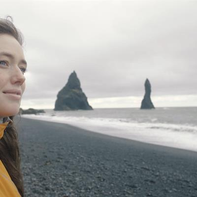 Reynisfjara near Vík in South Iceland