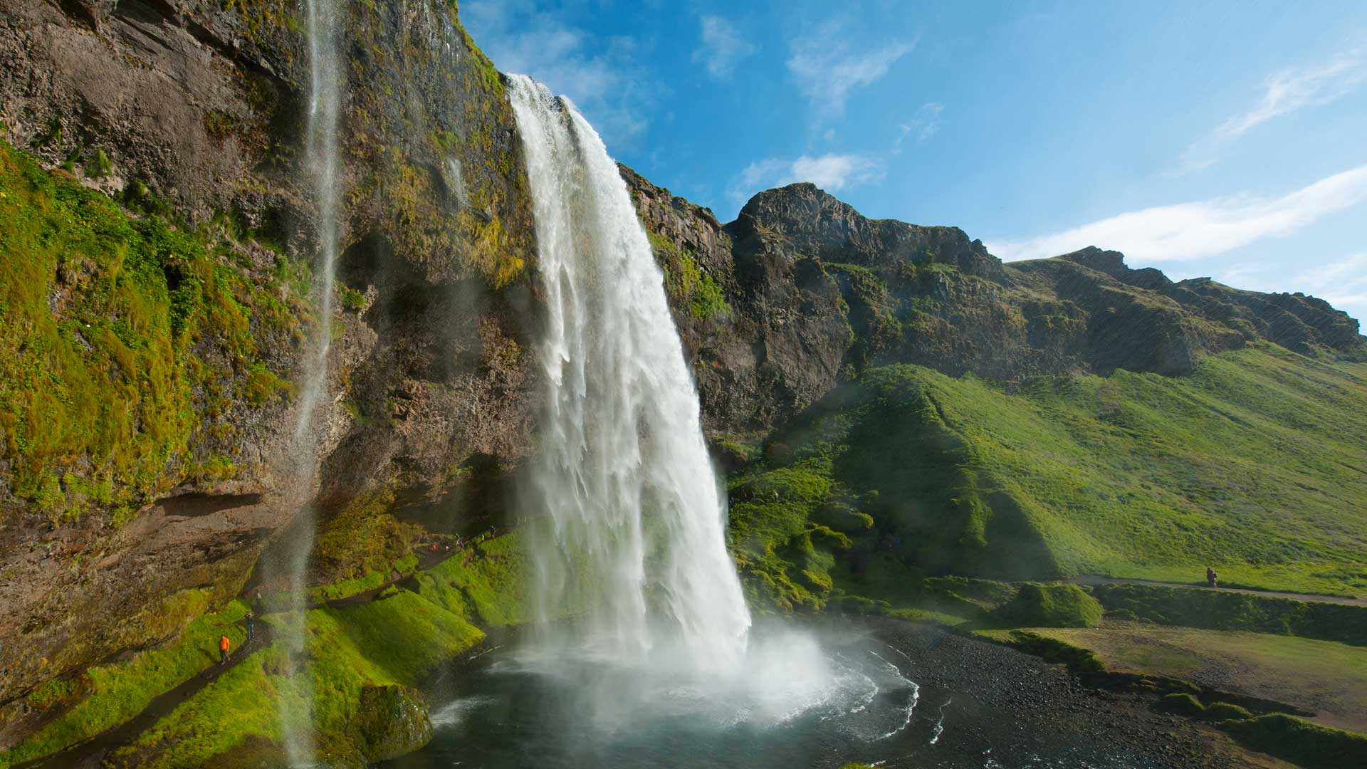 Seljalandsfoss waterfall south iceland travel guide for Waterfall it