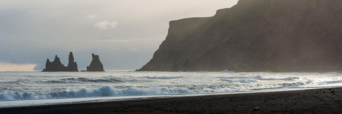 Reynisdrangar and Reynisfjara in South Iceland