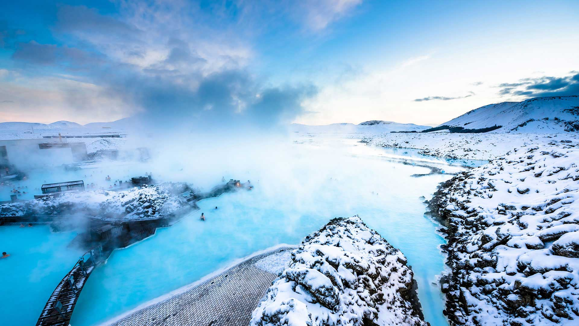 Winter adventures geothermal spas 7 days 6 nights for Blue lagoon iceland accommodation
